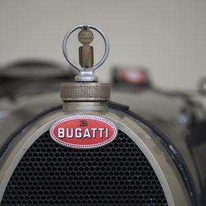 Vue de face d'une Bugatti type 35C