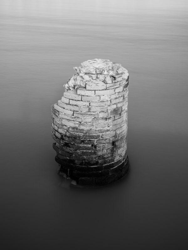 Anglet, embouchure de l'Adour, le dernier pilier