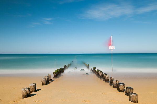 L'estacade et l'océan atlantique
